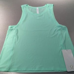 Lululemon Sole Training Tank Fresh Teal NWT